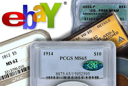 ebay grading services Coin Analyst Special Report: Numismatic Community Divided Over New E Bay Coin Selling Policies