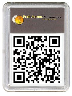 qcode pan Park Avenue Numismatics, Launches Mobile Website