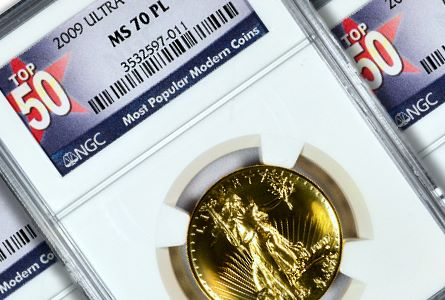 NGC Offers New Label For TOP 50 Most Popular Modern Coins