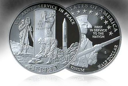 us army half dollar The 2011 Army Half Dollar Reconsidered