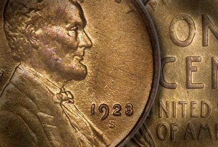 1923 s lincoln cent thumb USA Coin Album: The San Francisco Mint Coinage of 1923, Part One