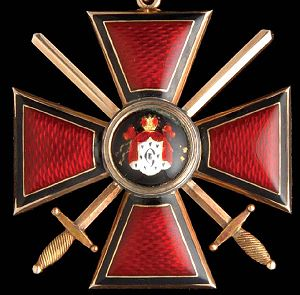 Order of St Vladimir Sale Report: Morton & Eden British, Russian and World Orders, Medals and Decorations, London May 31