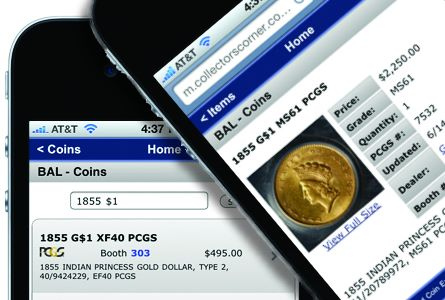 Find Coins Fast With Collectors Corner CoinSearch™ at the June 2012 Baltimore Expo