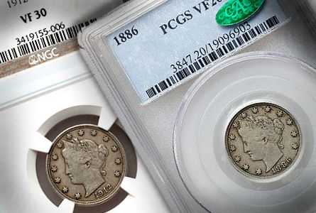An Introduction to Liberty Nickels, part 1, Circulated Coins
