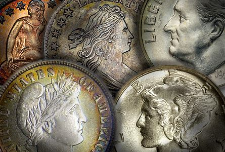 Coin Rarities & Related Topics: Collecting Silver Dimes by Design Type