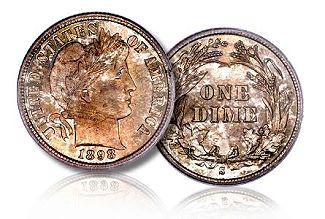 gr barber 10c Coin Rarities & Related Topics: Collecting Silver Dimes by Design Type