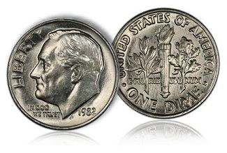 gr roose 10c Coin Rarities & Related Topics: Collecting Silver Dimes by Design Type