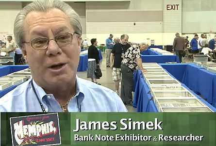 Exhibiting at the Memphis Paper Money Show Video