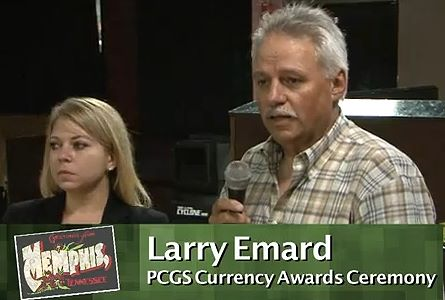 The Emard Award 2012 – PCGS Currency