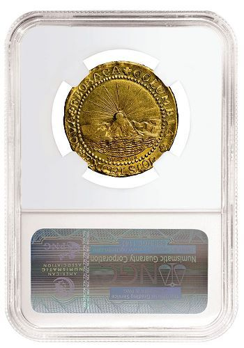 ngc brasher rev1 NGC Certifies Brasher Doubloon Considered the Finest Known and Valued at $10 Million