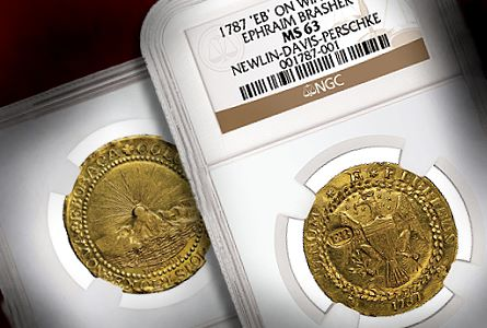 NGC Certifies Brasher Doubloon Considered the Finest Known and Valued at $10 Million