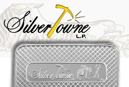 silvertowne+silver bar SilverTowne Announces Monthly Silver Giveaway