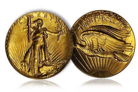 1907 DoubleEagle Extremely Rare 1907 $20 Gold Coin Soars to Over $2.7 Million in the Stacks Bowers Galleries Baltimore Auction on June 29