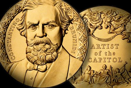 Constantino Brumidi Posthumously Awarded Congressional Gold Medal