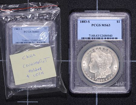 CounterfeitCoins PCGS Gives Congressmen A Close Look At Counterfeiting Problems