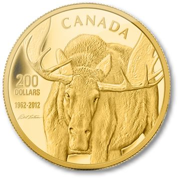 Moose From Robert Bateman to the Group of Seven, Canada Comes Alive on New Royal Canadian Mint Coins