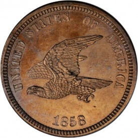 SmallEaglePatternO11 275x275 Coin Rarities & Related Topics: The ANA Rarities Night, Part 1: Standing Liberty Quarters, Cents and 1796 coins