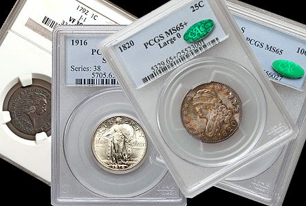 Coin Rarities & Related Topics: Cents, Dimes and Quarters in the Pre-ANA Platinum Night Event