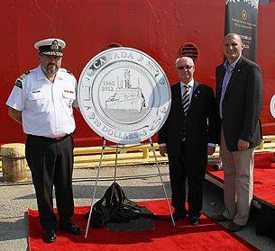 ca mint CG cer RCM Commemorates 50th Anniversary of Canadian Coast Guard