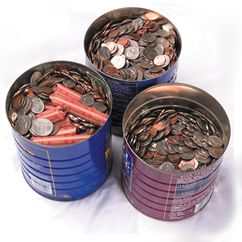 coins in can Ok, I admit it. I was wrong or: Teach a man to fish…