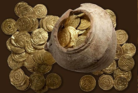 crusader gold Hoard of Crusader Gold Found in Ruins