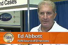 Numismatic Personality: Ed Abbott, FUN Board of Directors & Convention Volunteer, July 12, 2012