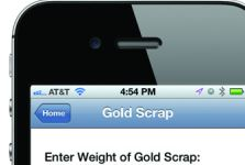 Free Coinflation.com iPhone™ App Gives Instant Melt Values of Silver  and Gold Collectibles and Jewelry