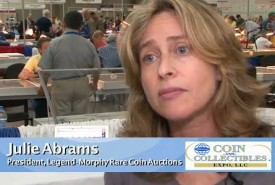 julie abrams thumb 275x185 Legend Morphy Rare Coin Auction Company Announced   Video