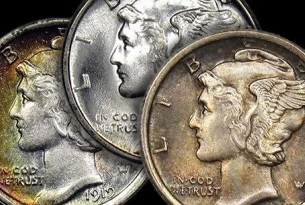 merc dimes group Collecting Strategies: Semi Key Mercury Dimes