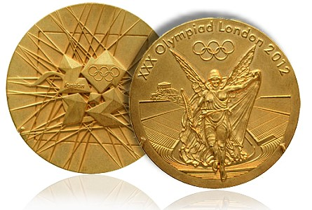 olympic gold 2012 london Olympic Medals are Still Made of Precious Metal But Contain Less Gold