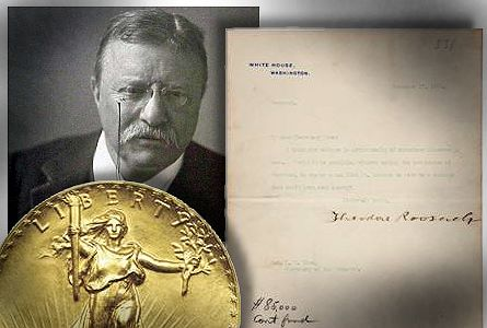 rosev letter2 1904 letter launching America's Saint Gaudens' 1907 coinage redesign to be auctioned Aug. 3 in Heritage's Platinum Night in Philadelphia