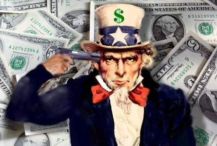 uncle sam suicide US Government's Financial Bluff Is Called