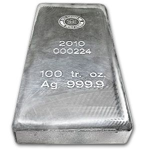 100 oz silver bar 2 Potential CFTC Failure To Prosecute For Silver Market Manipulation—The Good And The Bad