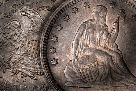 1870cc 25c thumb2 Coin Rarities & Related Topics: Battle Born 1870 CC Liberty Seated Quarter