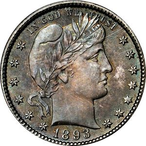1893 Coin Rarities & Related Topics: The ANA Rarities Night, Part 2: Auction Results for Quarters