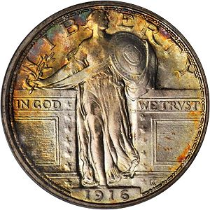 1916 Coin Rarities & Related Topics: The ANA Rarities Night, Part 2: Auction Results for Quarters