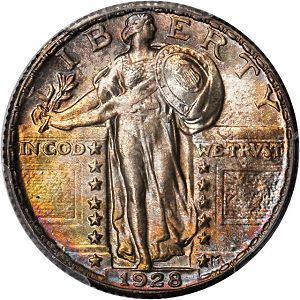 1928 Coin Rarities & Related Topics: The ANA Rarities Night, Part 2: Auction Results for Quarters