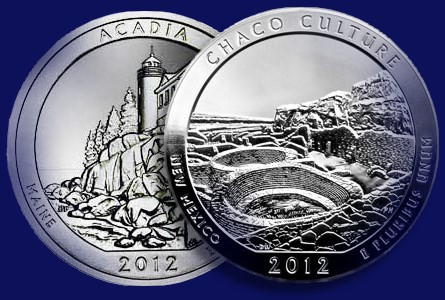 The Coin Analyst: America the Beautiful Five-Ounce Silver Coin Sales in 2012