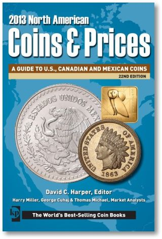 NA CoinsAndPrices KP Releases New North American Coins & Prices
