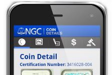 Numismatic Guaranty Corporation™ (NGC®) Releases First Mobile App: NGC Coin Details