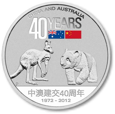 Perth Mint ChinaAustralia Perth Mint Celebrates 40 Years of Austraila China Relations