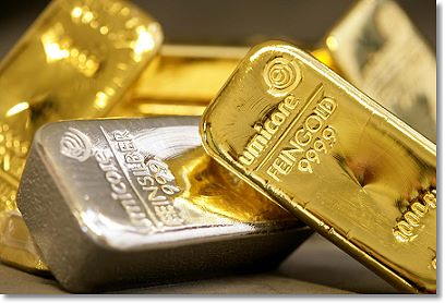 gold silver bars A Fresh Example Of Gold Price Manipulation!