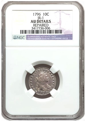 gr cal dime Coin Rarities & Related Topics: Very Early U.S. coins in Southern California Auctions