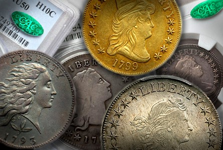 Coin Rarities & Related Topics: Very Early U.S. coins in Southern California Auctions