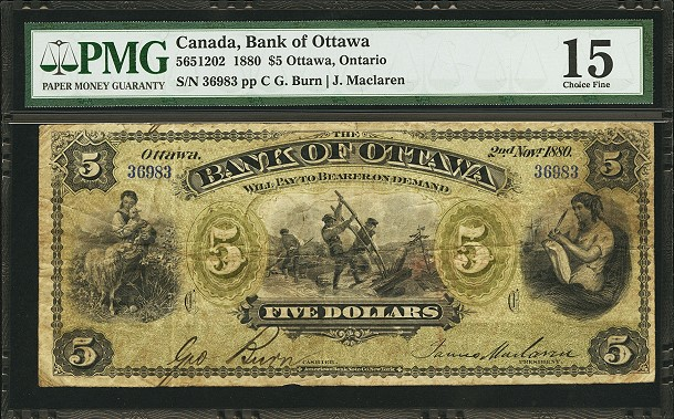 heritage ottowa note World Paper Money takes center stage in Heritage Auctions' Long Beach Currency event