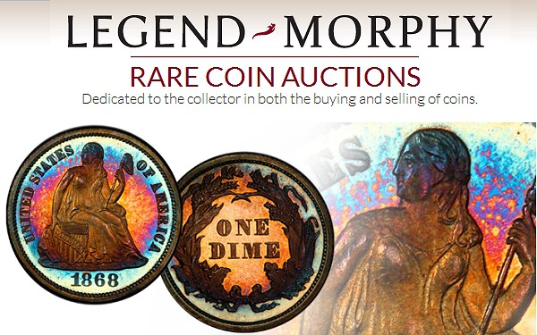 lm large Legend Morphy Auctions to Become Official Auctioneer of PCGS Members Only Shows