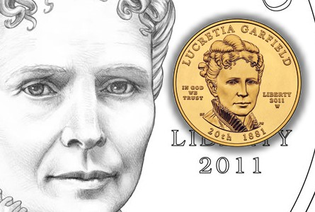 lucretia garfield The Coin Analyst: Modern U.S. Coin News Round Up: San Francisco 70 Sets Rising Fast and New Spouse Queens
