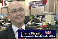 shane bissett royal mint Olympic & Paralympic Commemorative Coin Program for The Royal Mint