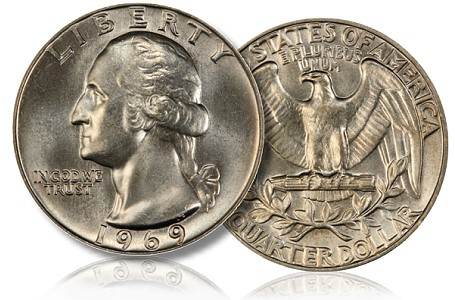 1969 25c What's up with the 1969 Quarter? The Key Date You Didn't Know About