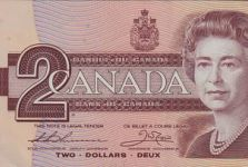 $2 Canadian Bank Note Valued at $15,000+